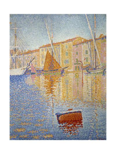 The Red Buoy, 1895-Paul Signac-Giclee Print