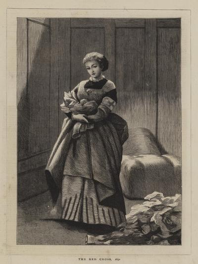 The Red Cross, 1870--Giclee Print