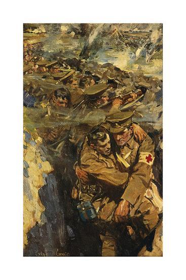 The Red Cross in the Trenches-Cyrus Cincinnati Cuneo-Premium Giclee Print