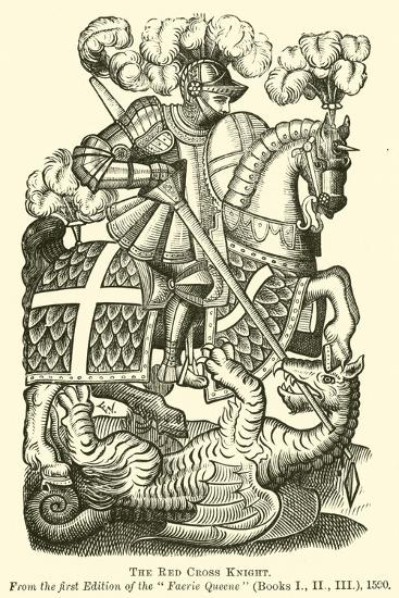 The Red Cross Knight--Giclee Print