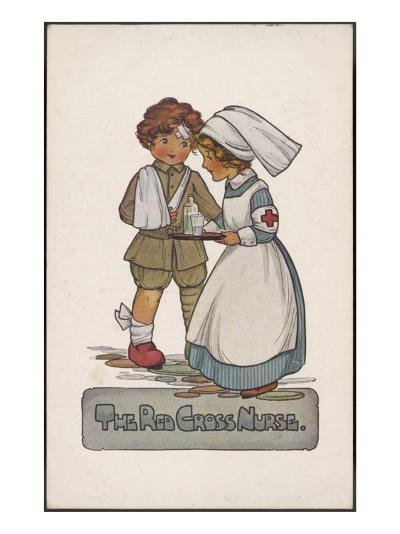 The Red Cross Nurse--Giclee Print