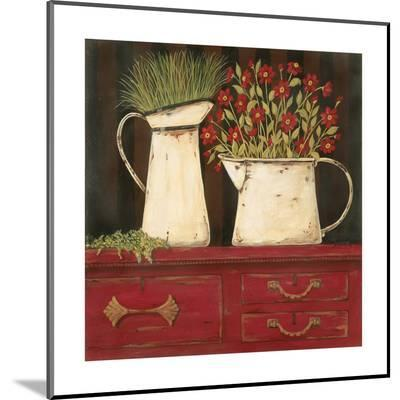 The Red Cupboard-Jo Moulton-Mounted Print