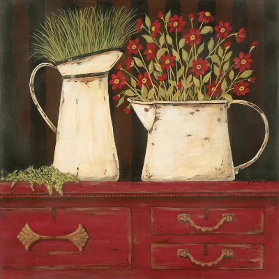 The Red Cupboard-Jo Moulton-Art Print
