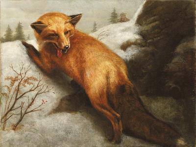 The Red Fox, 1870-Abbott Handerson Thayer-Giclee Print