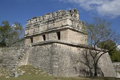 The Red House, Casa Colorado, Chichen Itza, Yucatan, Mexico, North America-Richard Maschmeyer-Photographic Print