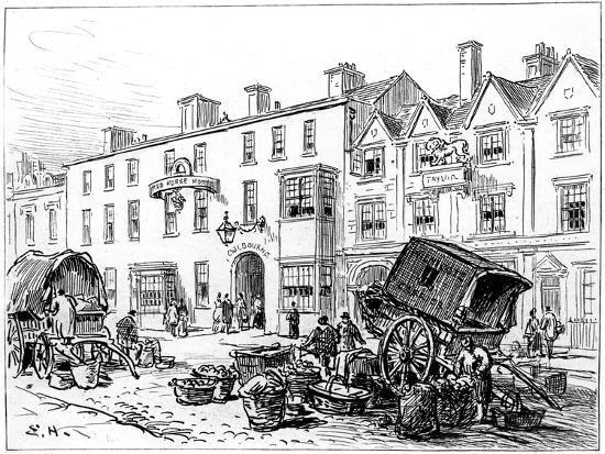 The Red House Hotel, Stratford-Upon-Avon, Warwickshire, 1885-Edward Hull-Giclee Print