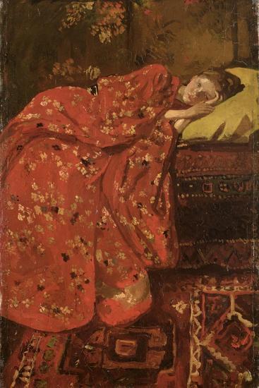 The Red Kimono-Georg-Hendrik Breitner-Giclee Print