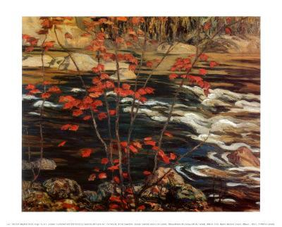 The Red Maple-A^ Y^ Jackson-Art Print