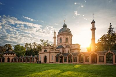 The Red Mosque, Schwetzingen, Baden-Wurttemberg, Germany, Europe-Andy Brandl-Photographic Print