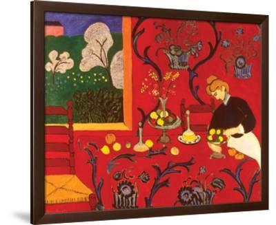 The Red Room-Henri Matisse-Framed Art Print