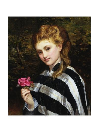 The Red Rose-Charles Sillen Lidderdale-Giclee Print