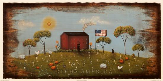 The Red Schoolhouse-Jessica Fries-Art Print
