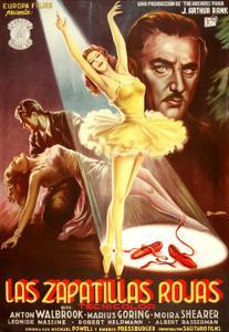 The Red Shoes, (aka Las Zapatillas Rojas), Moira Shearer, Anton Walbrook, 1948