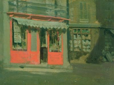 The Red Shop-Walter Richard Sickert-Giclee Print