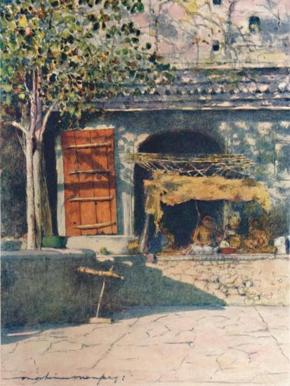 'The Red Shutter', 1905-Mortimer Luddington Menpes-Giclee Print