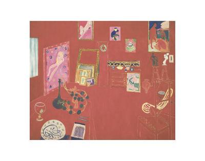 The Red Studio, 1911-Henri Matisse-Art Print