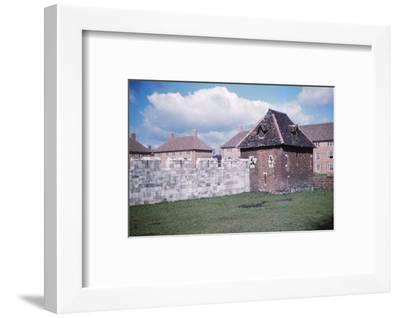 The Red Tower at the end of Yorks Medieval City Walls, 20th century-CM Dixon-Framed Photographic Print