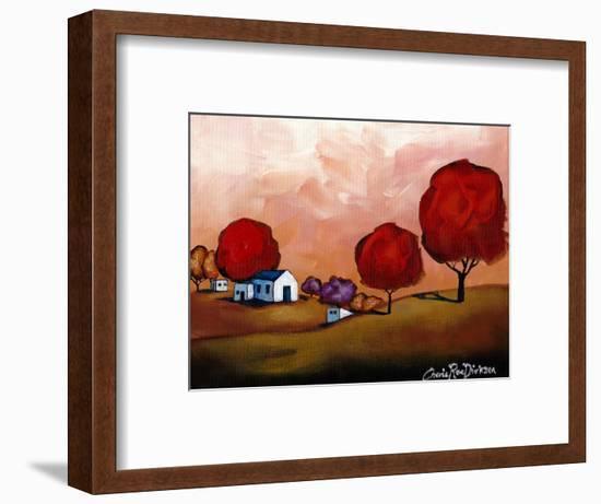 The Red Trees-Cherie Roe Dirksen-Framed Giclee Print