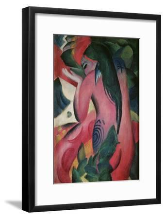 The Red Woman, 'Rote Frau', 1912-Franz Marc-Framed Giclee Print