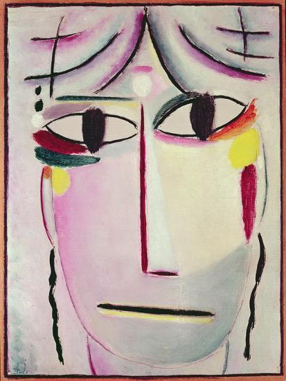 The Redeemer's Face, 1920-Alexej Von Jawlensky-Giclee Print