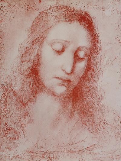 The Redeemer-Leonardo da Vinci-Giclee Print