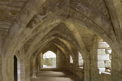 The Refectory Undercroft, Finchale Priory, County Durham, UK-Jonathan Bailey-Photo