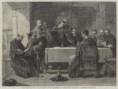 The Refectory-George Cattermole-Giclee Print
