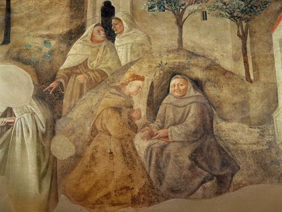 The Reform of the Carmelite Rule, Detail of Four Carmelite Friars, C.1422-Fra Filippo Lippi-Giclee Print