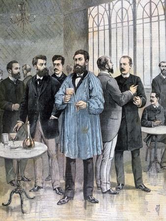 The Refreshment Bar, Chamber of Deputies of France, Paris, 1892-Henri Meyer-Giclee Print