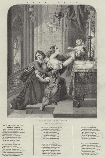 The Refuge at the Altar--Giclee Print
