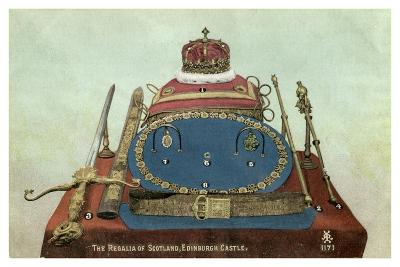The Regalia of Scotland, Edinburgh Castle, 19th or 20th Century--Giclee Print