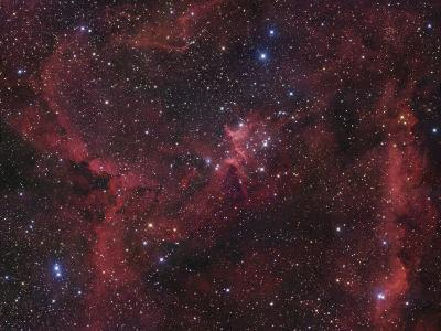 The Region of Nebula Ic1805-Robert Gendler-Photographic Print