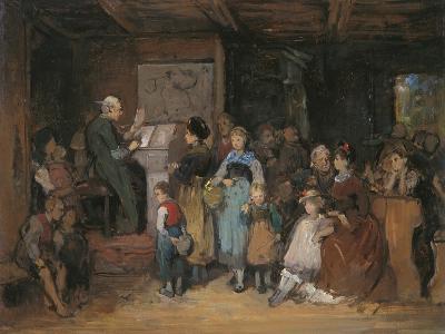 The Registration-Franz Von Defregger-Giclee Print