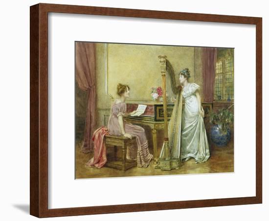 The Rehearsal-George Goodwin Kilburne-Framed Giclee Print