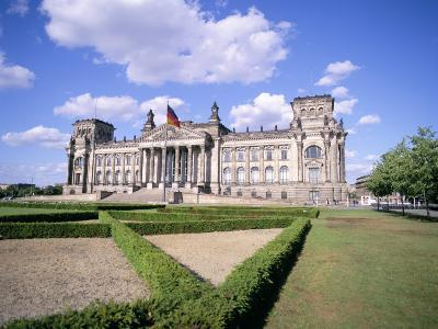 The Reichstag, Berlin, Germany-Peter Scholey-Photographic Print