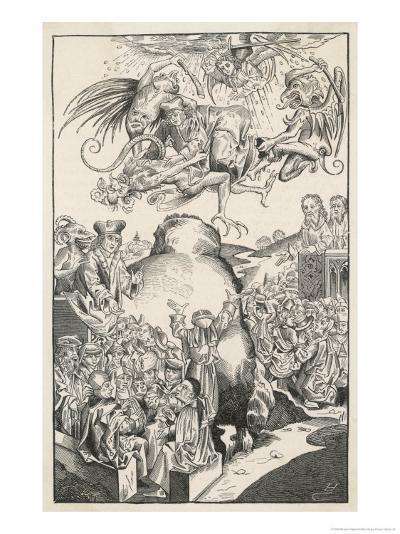 The Reign of Antichrist-Michael Volgemuth-Giclee Print