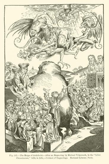 The Reign of Antichrist--Giclee Print