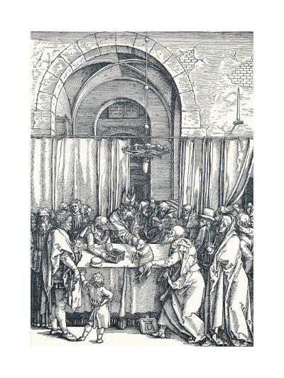 The Rejection of Joachims Offering, 1506-Albrecht D?rer-Giclee Print