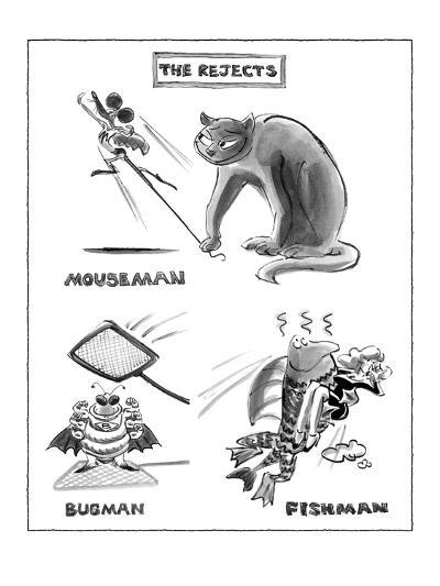 The Rejects - New Yorker Cartoon-Lee Lorenz-Premium Giclee Print