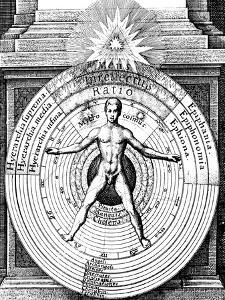 The Relation of Man, the Microcosm, with the Universe, the Macrocosm, C1617