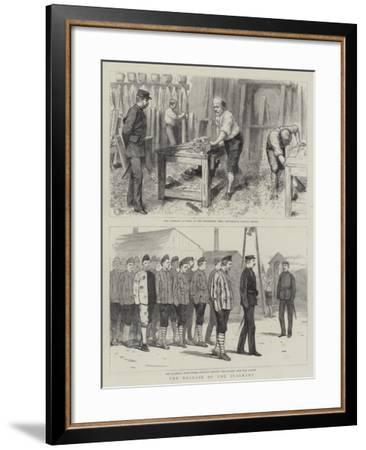 The Release of the Claimant--Framed Giclee Print