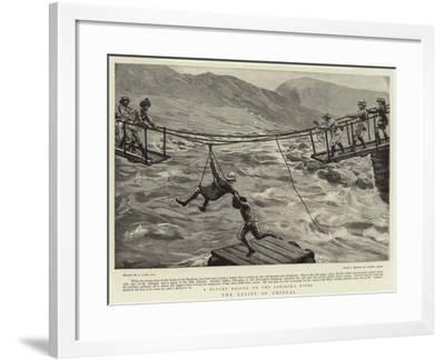The Relief of Chitral-Joseph Nash-Framed Giclee Print