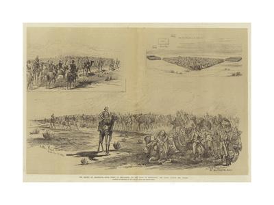The Relief of Khartoum-Melton Prior-Giclee Print