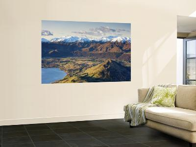 The Remarkables Ski Field Towards Arrowtown, Queenstown, Central Otago, South Island, New Zealand-Doug Pearson-Giant Art Print