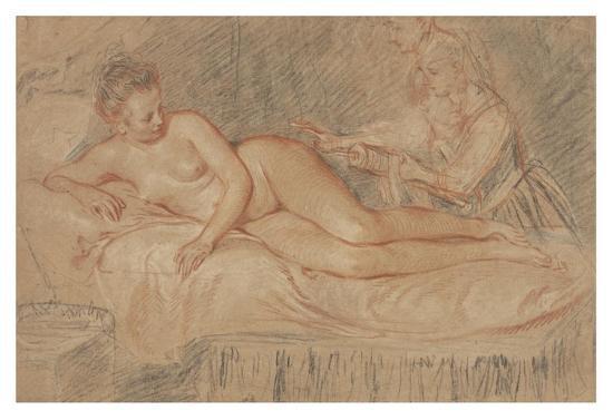 The Remedy-Jean-Antoine Watteau-Art Print