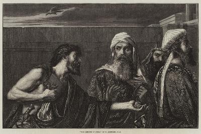 The Remorse of Judas-Edward A. Armitage-Giclee Print