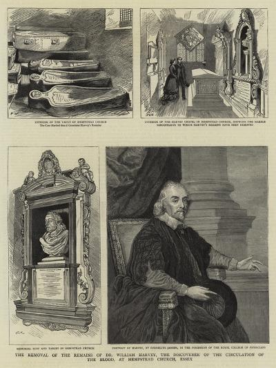 The Removal of the Remains of Dr William Harvey--Giclee Print