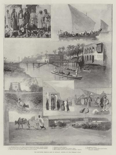 The Reported French Gain in Muscat, Scenes on the Persian Gulf-Henry Charles Seppings Wright-Giclee Print