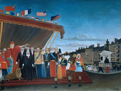 The Representatives of Foreign Powers Coming to Salute the Republic, 1907-Henri Rousseau-Giclee Print