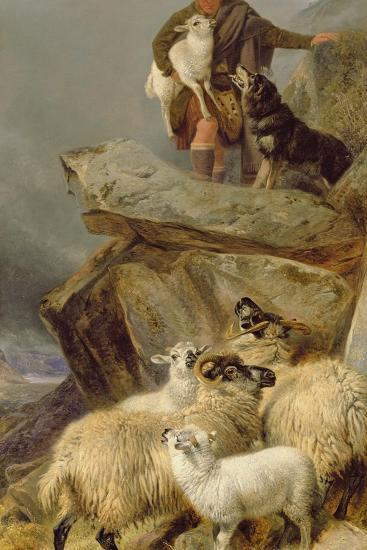 The Rescue, 1883-Richard Ansdell-Giclee Print